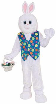 Funny Easter Bunny Plush Adult Costume