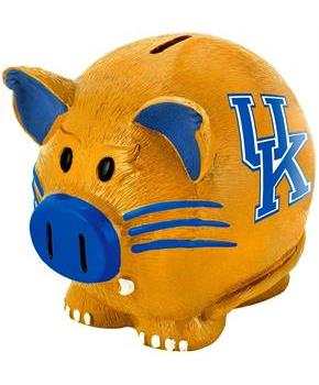 "Kentucky Wildcats NCAA 8"" Resin Piggy Bank"