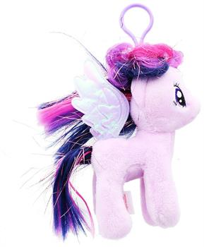 "My Little Pony 6"" Twilight Sparkle Plush Clip-On"