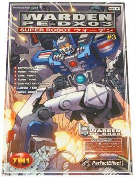 Transformers PE-DX03 Warden Pocket Card Calendar, Year 2014