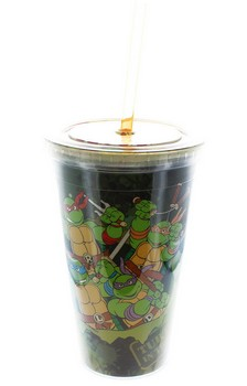 Teenage Mutant Ninja Turtles In Training 16oz Travel Cup