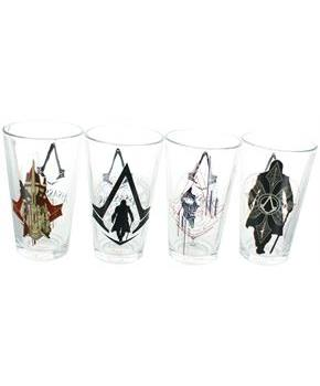 Assassin's Creed Syndicate 16oz Pint Glass 4-Pack