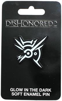 Dishonoured 2 Rune Glow in the Dark Soft Enamel Collector Pin