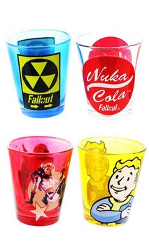 Fallout Shot Glass, Set of 4
