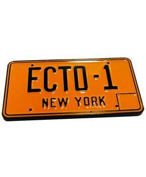 Ghostbusters Ecto-1 License Plate Collectible Pin, NYCC '17 Exclusive