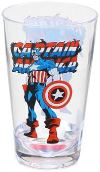 Marvel Retro Captain America 16oz Shatter-Proof Acrylic Cup