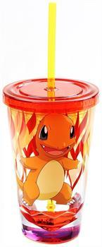 Pokemon Charmander Diamond Bottom 16oz Carnival Cup