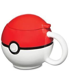Pokemon Pokeball Mug with Lid