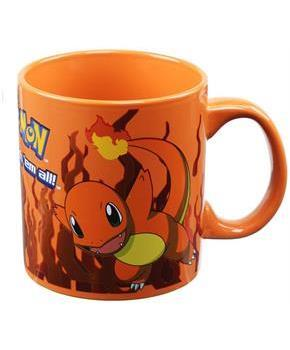 Pokemon Charmander Orange Foil Print 20oz Coffee Mug