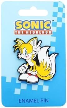Sonic the Hedgehog Tails Enamel Collector Pin