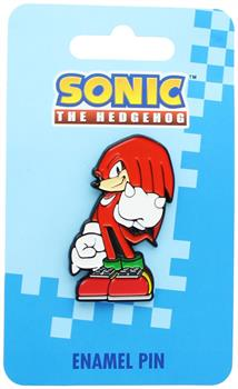 Sonic the Hedgehog Knuckles Enamel Collector Pin
