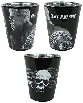Sons of Anarchy Clay Morrow Shot Glass