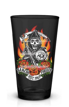 Sons of Anarchy SAMCRO Forever 16oz Pint Glass