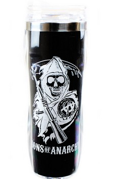 Sons of Anarchy Reverse Logo 16oz Travel Mug