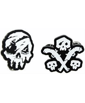 Sea of Thieves Skull and Guns Enamel Pin 2-Pack (SDCC'18 Exclusive)