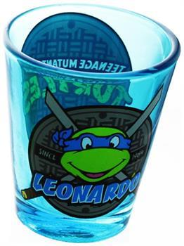 Teenage Mutant Ninja Turtles Blue Leonardo Shot Glass