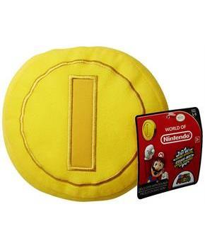 "Nintendo 5"" Plush with Sounds: Gold Coin"