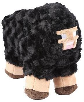 "Minecraft 10"" Plush Stuffed Animal: Black Sheep"