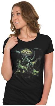 World of Warcraft: Legion Lord of Outland Women's Tee (Black)