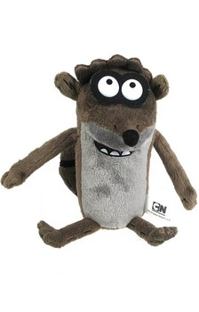 "Regular Show 10"" Pull String Plush with Sound: Rigby"