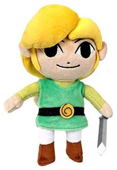 "Legend Of Zelda Wind Waker Link 8"" Plush"