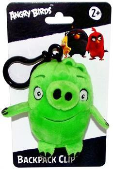 "Angry Birds Movie 4.5"" Plush Clip On: Pig"