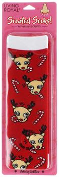 Reindeer Peppermint Scented Socks