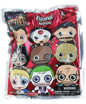 Suicide Squad Blind Bag Key Chain, One Random