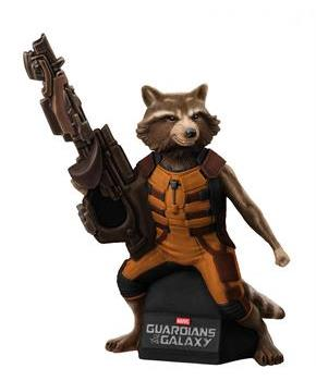 Gotg Rocket Raccoon Vinyl Figural Bank