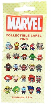 Marvel Collectible Lapel Pin Blind Bag, One Random