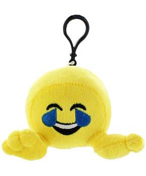 "Plushi Palz 4"" Emoji Plush: Tears of Joy"