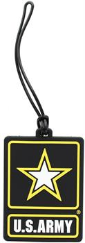 U.S. Army PVC Luggage Tag