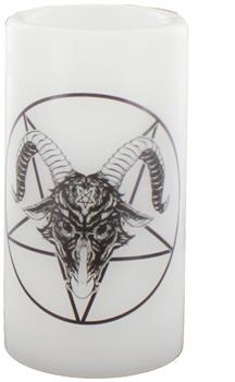 Horror Block Exclusive Baphomet LED Candle