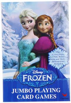 Disney Frozen Jumbo Playing Cards