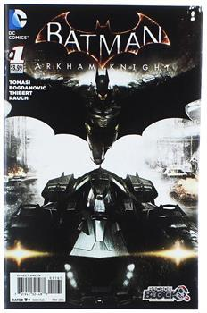Batman Arkham Knight #1 Variant Comic Book (Arcade Block Cover)