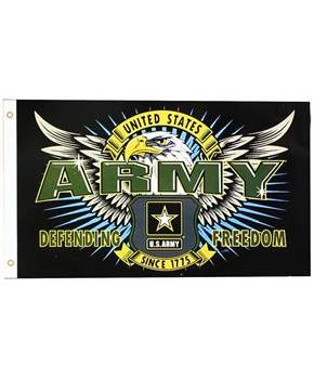 U.S. Army Defending Freedom Flag (3'x5')