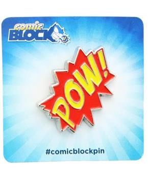 Pow! Collectible Enamel Pin