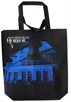 The Amityville Horror Large Canvas Tote Bag