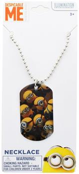 Despicable Me Dog Tag Necklace - Minions