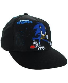 "Sonic the Hedgehog ""Sonic Boom"" Snapback Hat, Black"