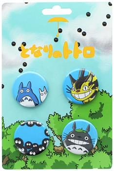 My Neighbor Totoro Button 4-Pack