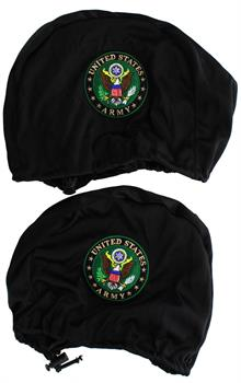 U.S. Army Embroidered Headrest Covers, Set of 2