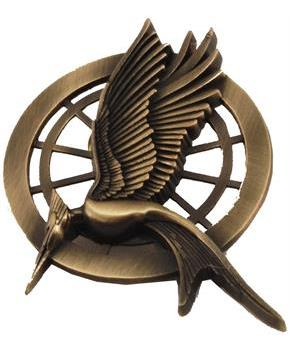 The Hunger Games Catching Fire Movie Prop Replica Mockingjay Pin