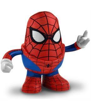 Marvel Spider Man Mr. Potato Head Figure