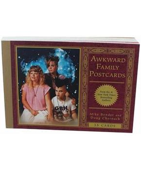 Awkward Family Postcards 35 Cards by Mike Bender
