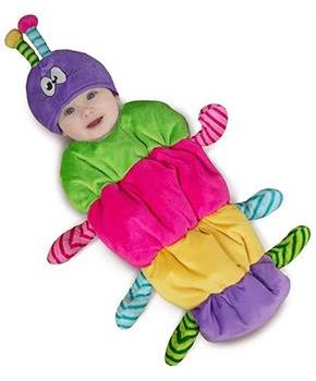 Rainbow Caterpillar Infant Costume 0-3 Months