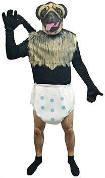 Mountain Dew - Puppy Monkey Baby Adult Costume