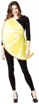 Lemon Slice Adult Costume - One Size
