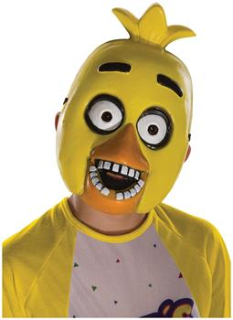 Five Nights At Freddy's Child Half Mask: Chica