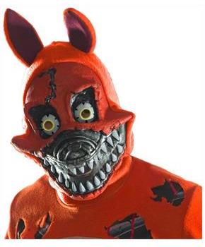 Five Nights At Freddy's Nightmare Foxy Costume Mask